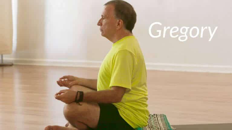 Gregory Meditating